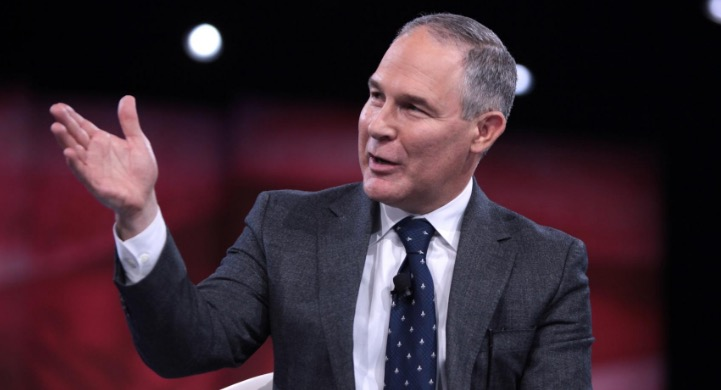 Scott PruittCarbon Dioxide Not A 'Primary Contributor' To Global Warming