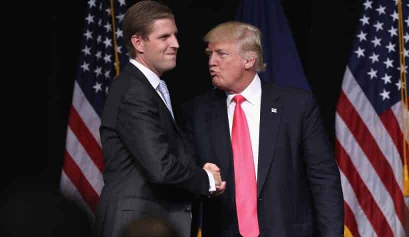 Eric Trump Nepotism Is A Beautiful Thing