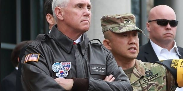 Pence To North KoreaEra Of Strategic Patience Is Over