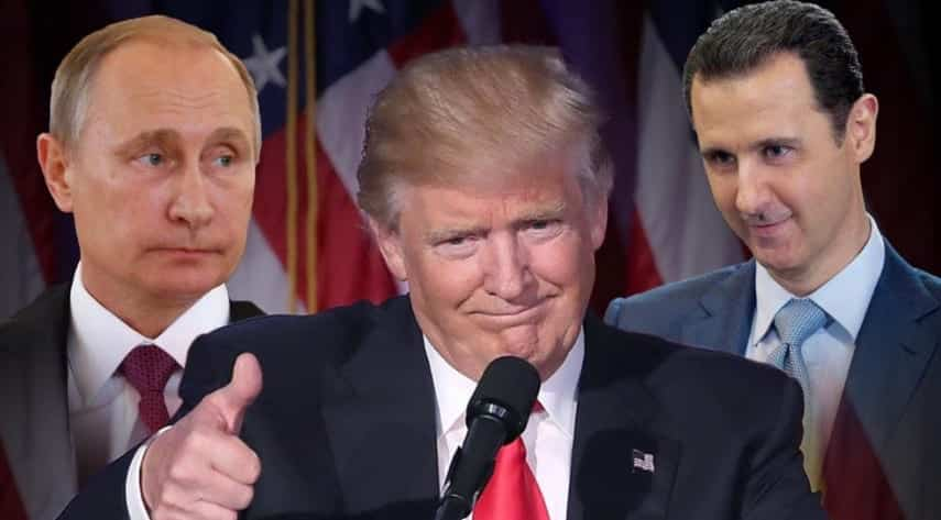 Trump Officials Tell Russia to Stop Supporting Assad