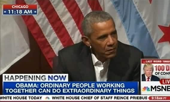 Watch Live Obama Talking To Young Leaders At University Of Chicago Forum