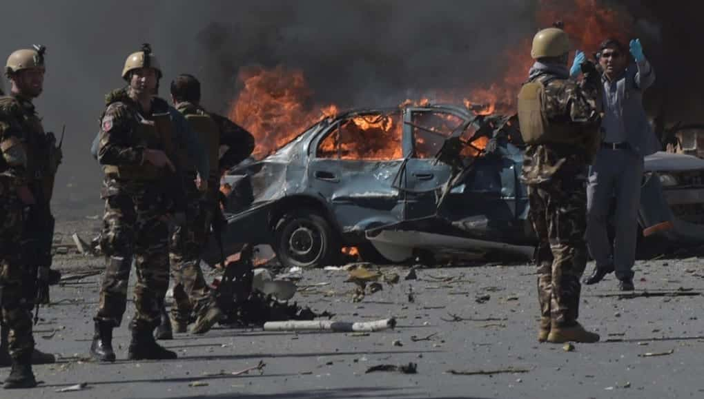 80 Killed 350 Injured In Kabul Suicide Bombing Explosion