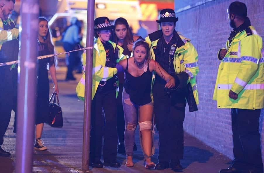 At Least 20 Dead Hundreds Injured After Explosion At Ariana Grande Concert In Manchester