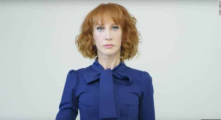 Kathy Griffin Apologizes For Gory Photo Shoot With Fake Trump Head