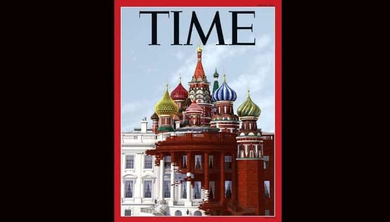 MUST SEE Time Magazine Trump Russia Cover