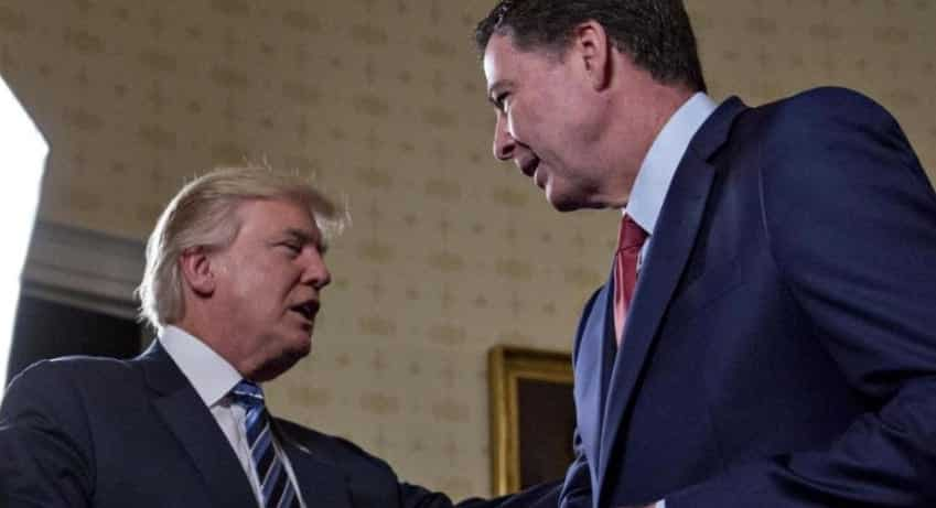 President TrumpThreatens Comey With Tapes Of Their Conversations