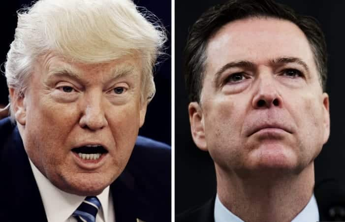 ReportTrump Asked Comey For Loyalty Was Rebuffed