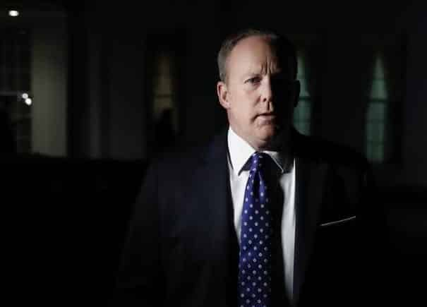 Sean Spicer Literally Hid In Bushes To Avoid The Press
