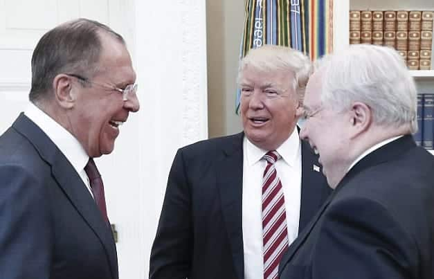 Trump To Russians Firing Nut Job Comey Eased Probe 'Pressure'