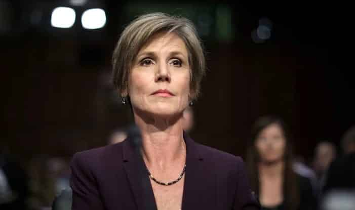 Yates Russians Had 'Real Leverage' Over Flynn