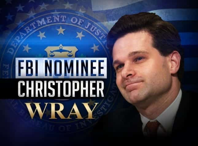 FBI Director Nominee Christopher Wray Deleted Reference To Russia Work