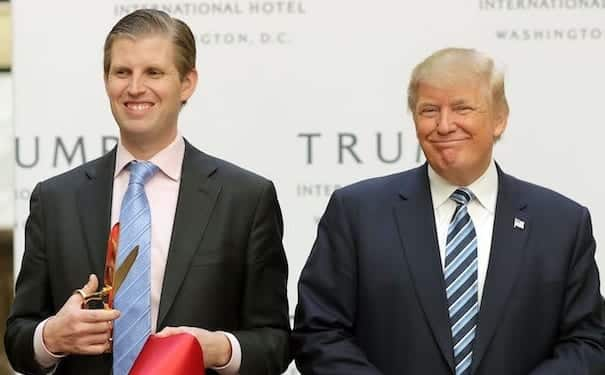 New York Attorney General Looking Into Eric Trump Foundation