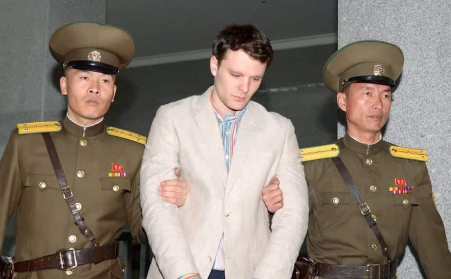 Tillerson U.S. Student Otto Warmbier Released From North Korea