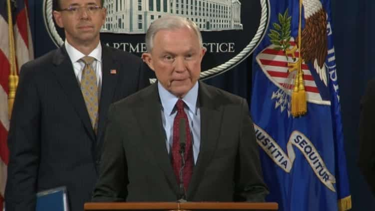 Jeff Sessions Vows To Stay On As Attorney General After Trump Criticism