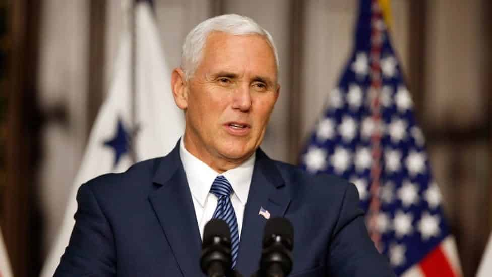 Pence reassures Baltic states draws firm line against Russia aggression