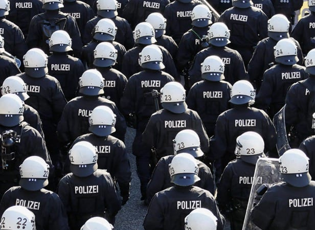 ProtestersPolice Clash In Hamburg Germany During Trump Visit WATCH LIVE