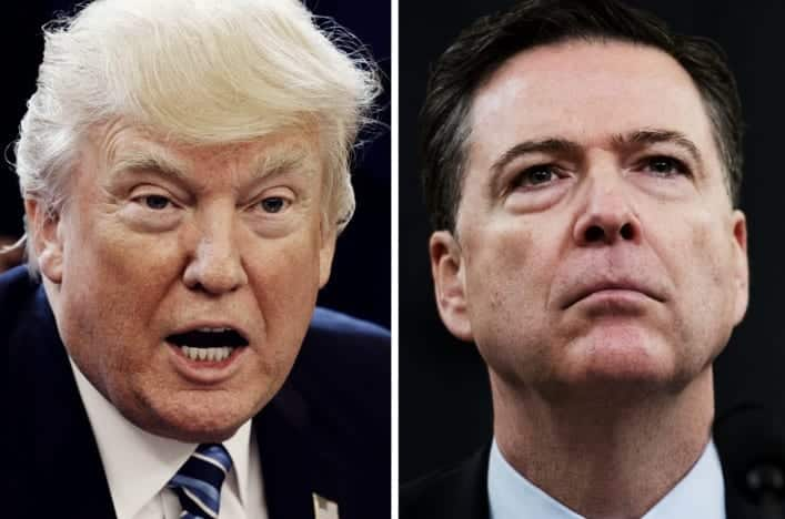 Trump Accuses Comey Of Leaking Classified Info To MediaSo Illegal