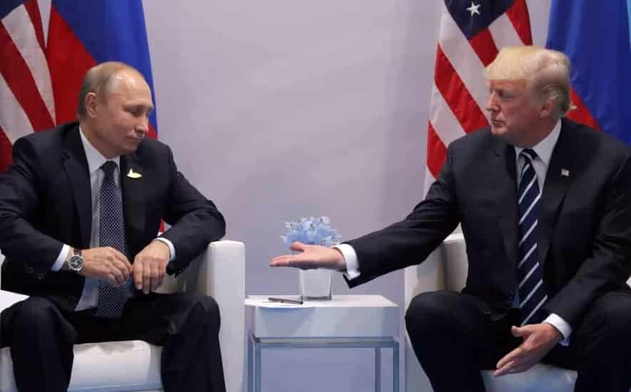 Trump Backtracks On Idea Of Forming A Cyber Security Unit With Putin