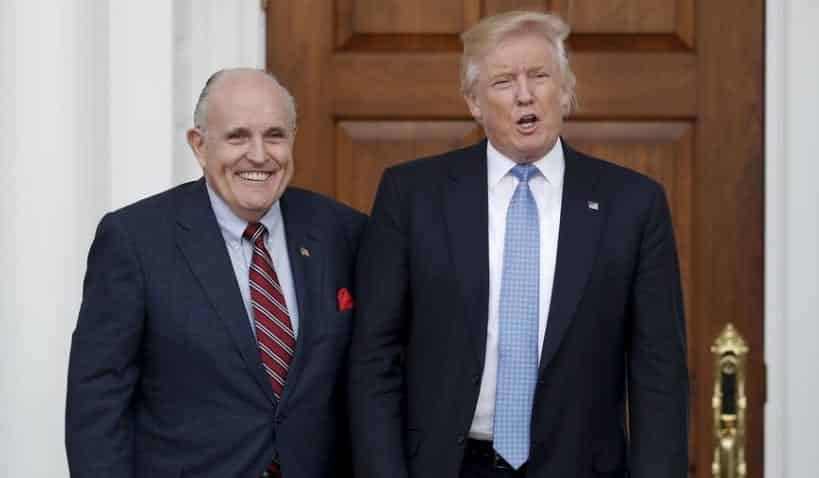 Trump Reportedly Considering Rudy Giuliani For Attorney General