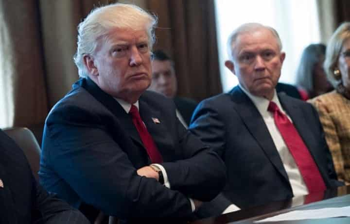 Trump Takes Aim At Jeff Sessions For Being Weak On Hillary Clinton