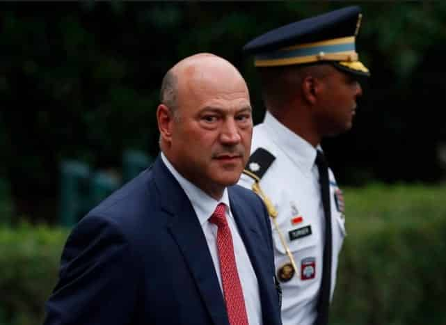 Gary Cohn Trump Team 'Must Do Better' to Condemn Hate Groups