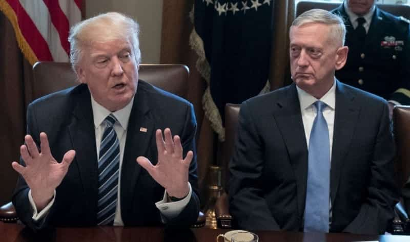 Mattis To Trump US Never Out Of Diplomatic Solutions On North Korea