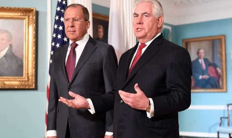 Tillerson U.S. Will Respond To Russian Diplomatic Expulsions By Sept. 1