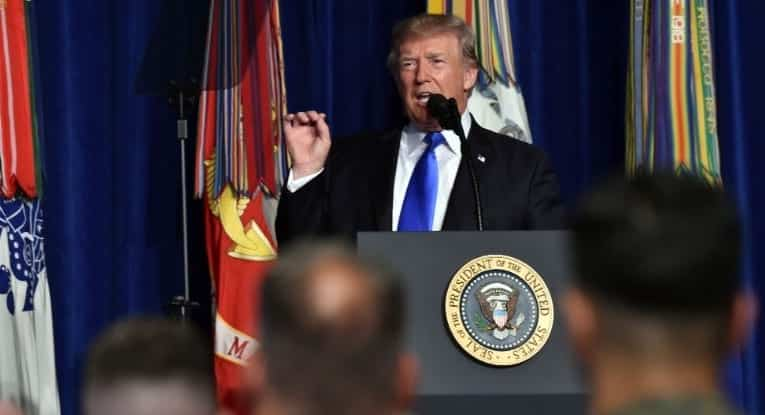 Trump New Afghanistan Strategy Is 'Killing Terrorists' Not 'Nation Building'