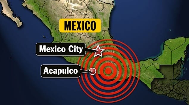 At Least 15 Dead After 8.1 Magnitude Quake Hits Mexico City