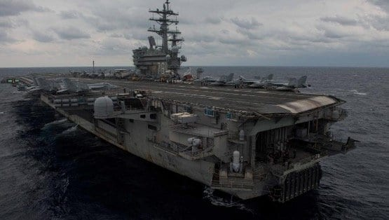 U.S. Navy Plane Carrying 11 People Crashes Into Pacific Off Japan