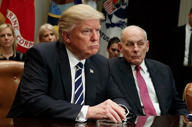 Trump To John Kelly The Wall Is The Wall