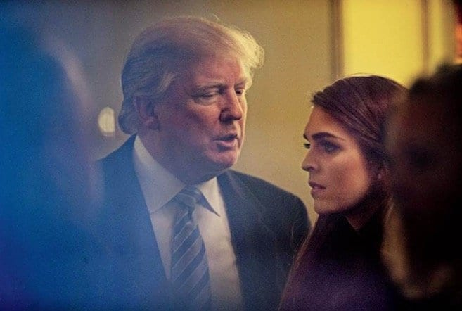 Hope Hicks To Resign As White House Communications Director