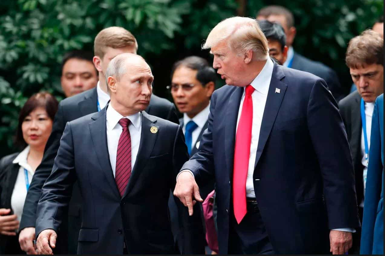 Report Trump Didn't Want To Anger Putin After Ukraine Weapons Sale