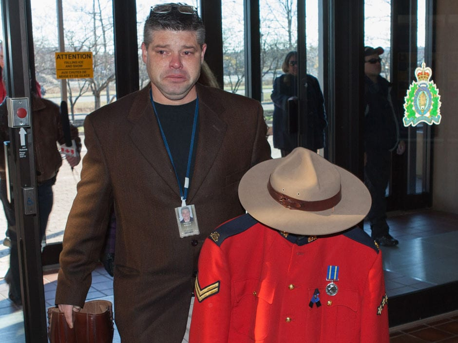 Veteran RCMP officer stripped of his uniform for publicly smoking medical marijuana