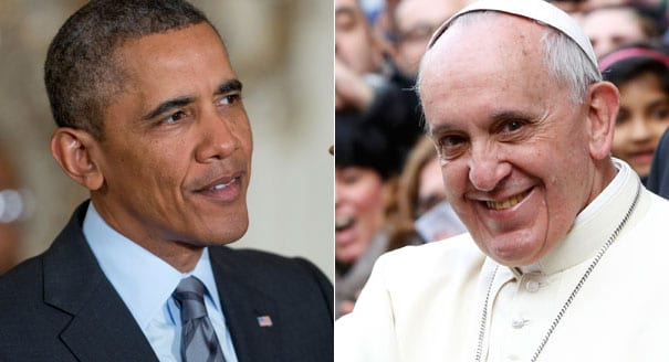 Obama to meet with Pope Francis in March