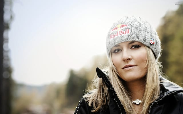 Lindsey Vonn photoshoot by Samo Vidic (2010)