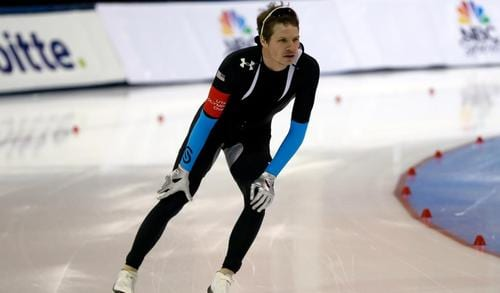 U.S. speed skater asks family not to go to Sochi due to threat