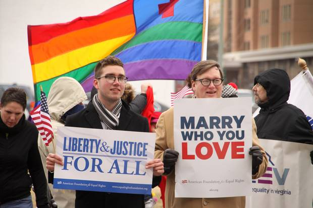 same sex marriage constitutionality in Virginia