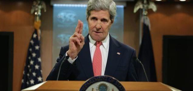 'If I Could Rewind the Tape...' Kerry Issues Statement on Apartheid Comment