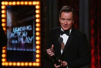 Bryan Cranston Wins Tony Award as LBJ