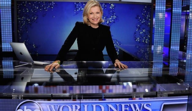 Diane Sawyer Stepping Down From ABC's 'World News'