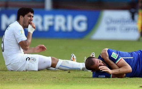 FIFA charges Uruguay's Suarez over bite in World Cup match