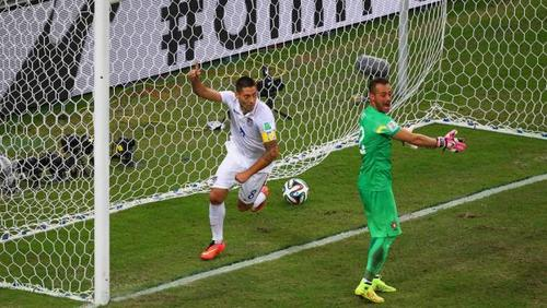 Portugal scores late to tie US 2-2