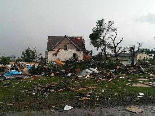 Significant damage reported in South Dakota following tornado