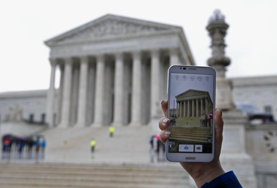 Supreme Court rules police generally need a warrant before searching the cell phone of a person arrested
