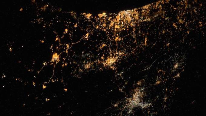 Gaza Conflict From Space In 'Saddest Photo'