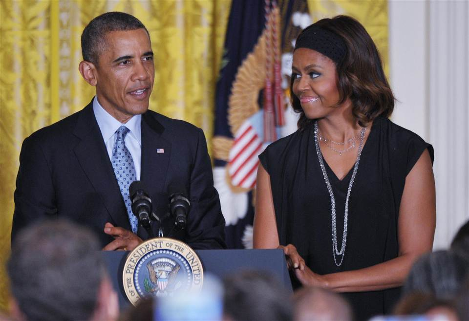 Michelle Obama- There is no crack in White House pies