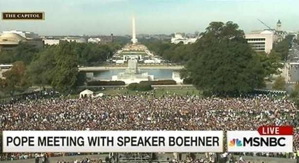 Pope Francis To Give Speech At Congress [VIDEO