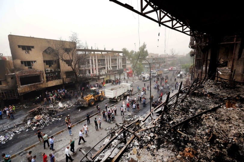 At Least 165 Killed In Baghdad Bombings [VIDEO]