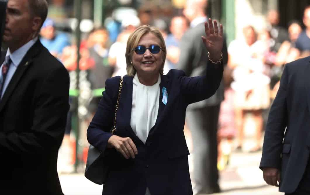 Clinton Pneumonia Diagnosis Revealed After Fainting At 9:11 Memorial